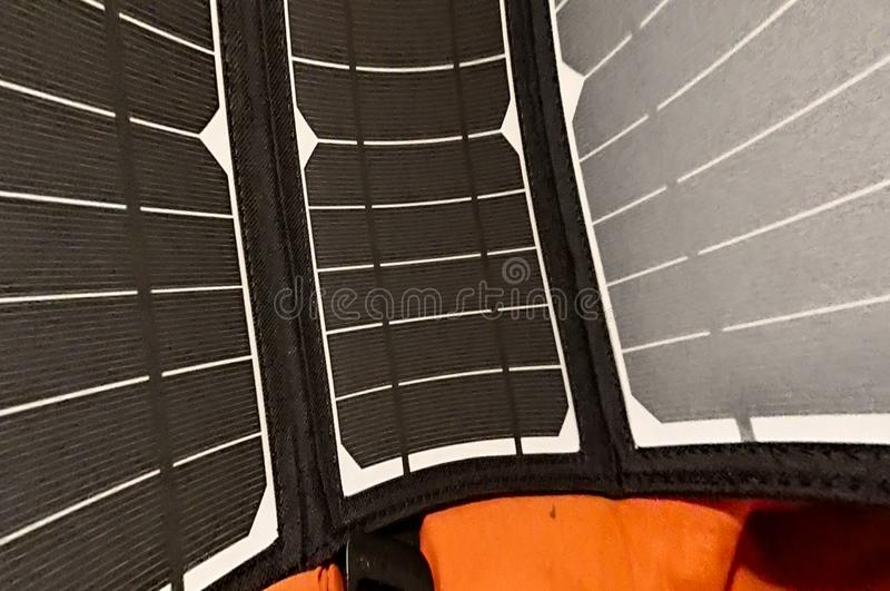 Solar Panels Sun Power Abstract royalty free stock image