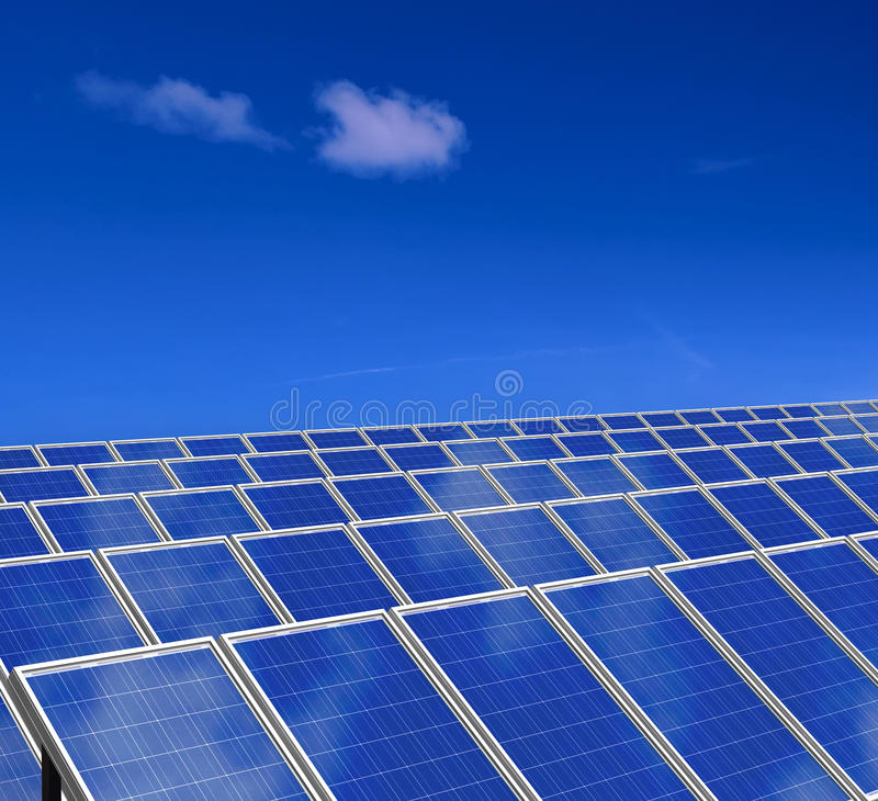 Download Solar Panels System. Green Energy From Sun. Stock Photo - Image: 19633870