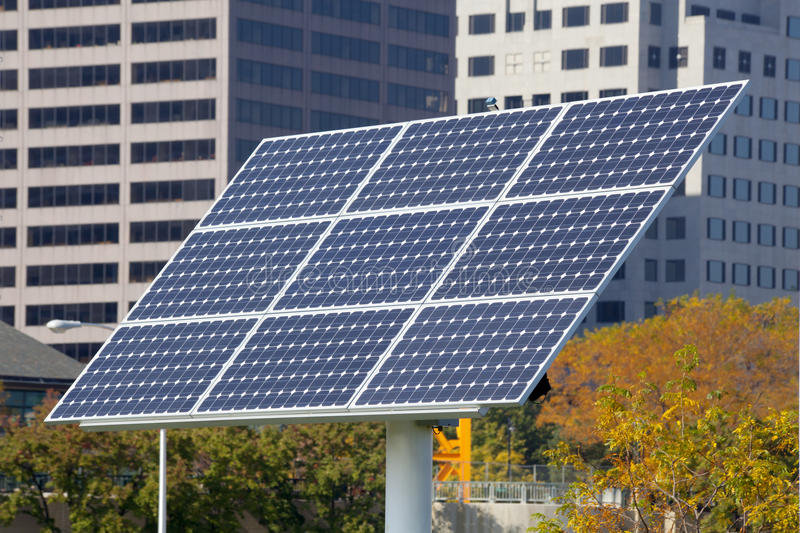Solar Pannel royalty free stock image