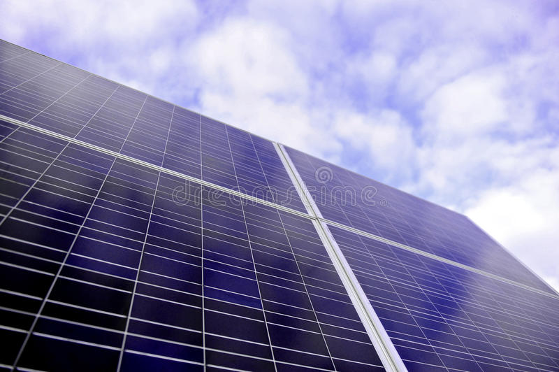 Solar Pannel royalty free stock photos