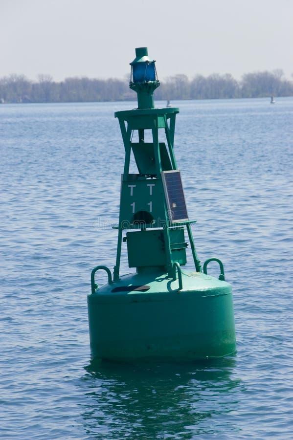 Download Solar Pawered Buoy stock image. Image of marker, energy - 5183647