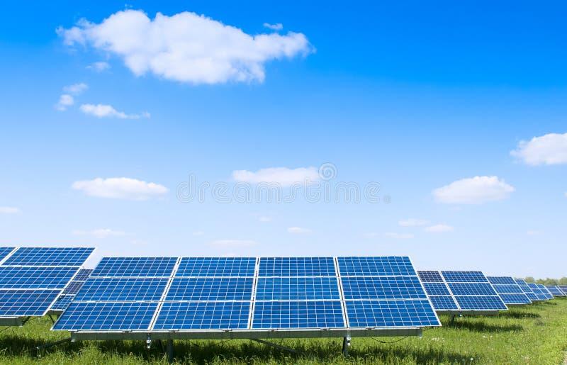 Solar plant stock photos