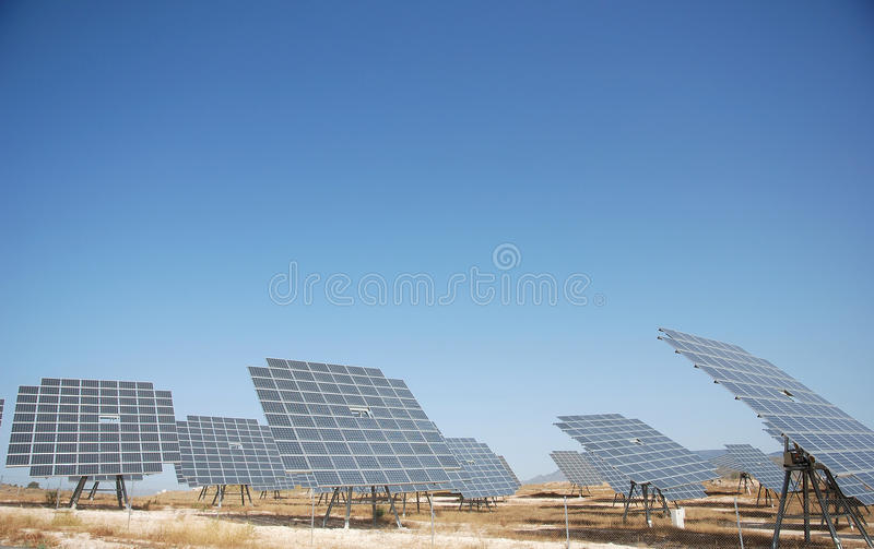 Download Solar plant in spain stock image. Image of refit, spanien - 10791905