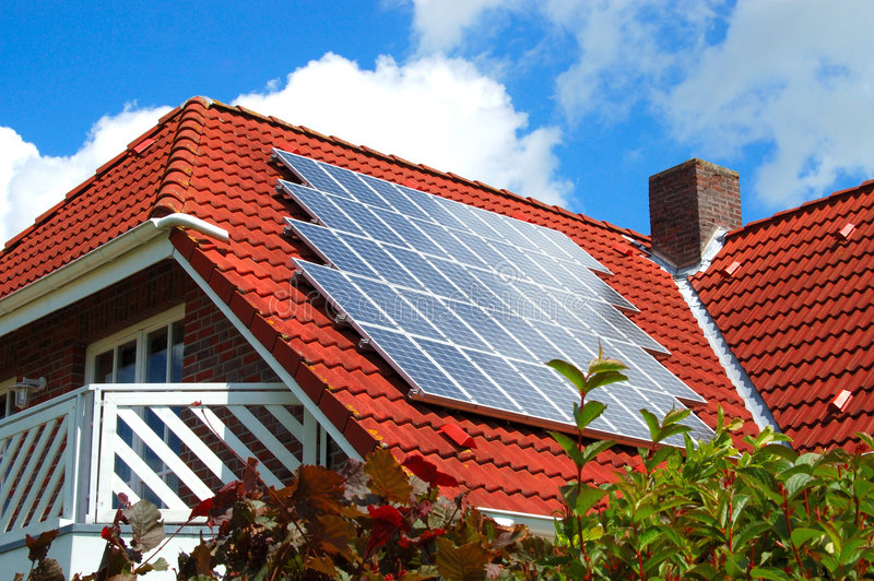 Solar power royalty free stock image