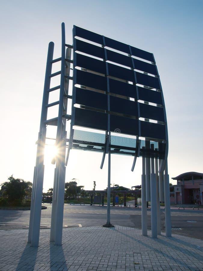 Solar Power Panel Stock Photo