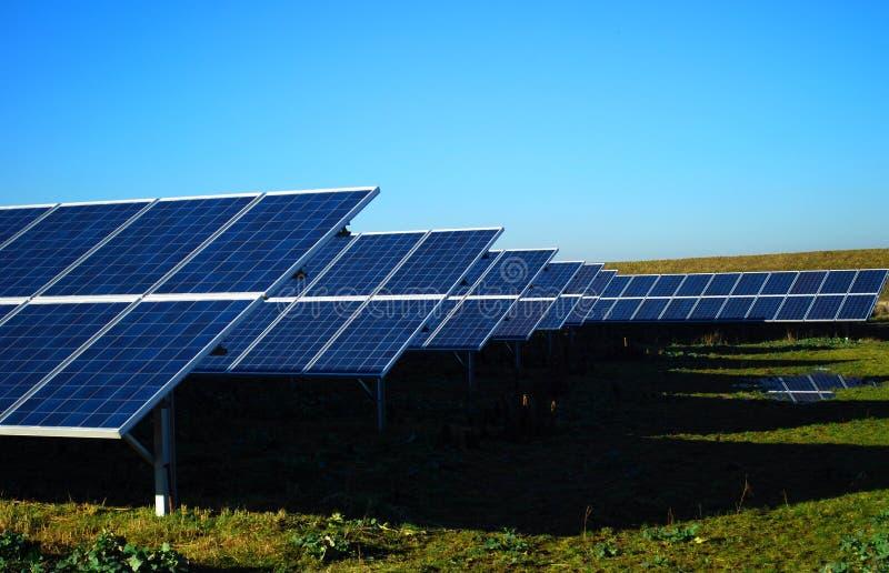 Download Solar power plant stock illustration. Image of sunbeam - 17854714