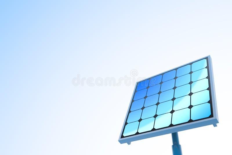 Solar power / Solar panels vector illustration