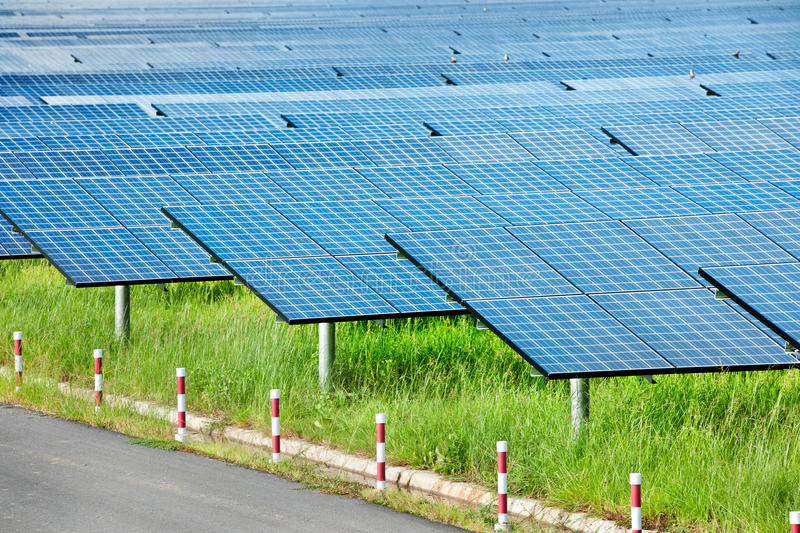Download Solar power station stock image. Image of generation - 23371625