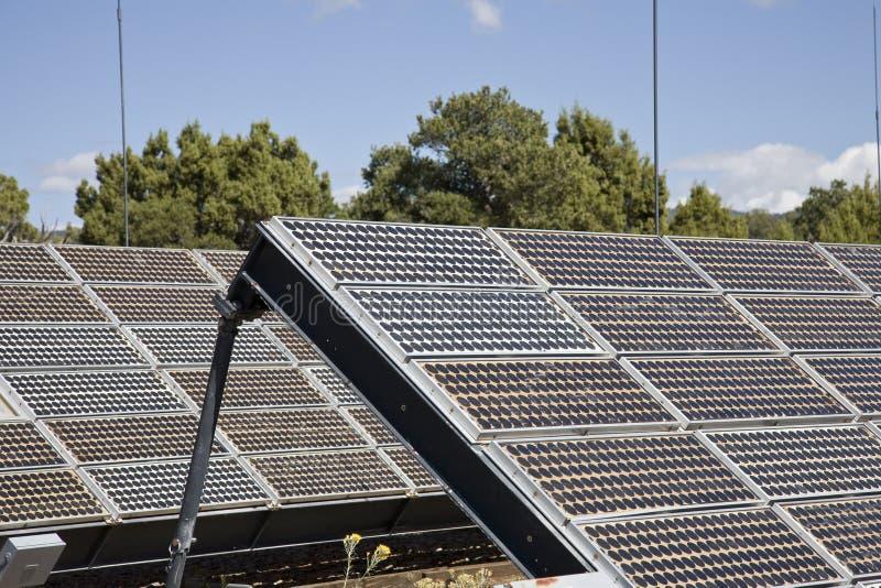 Solar Power System stock image