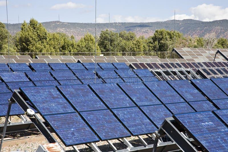 Solar Power System royalty free stock photo