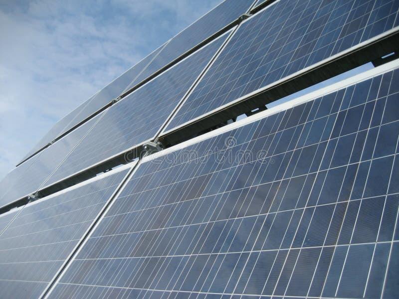 Solar power system II royalty free stock photos