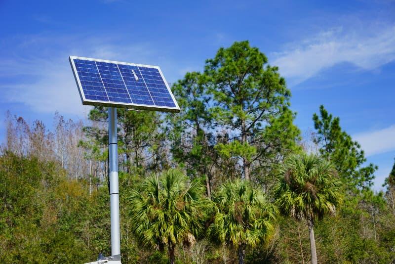 Solar power stock image