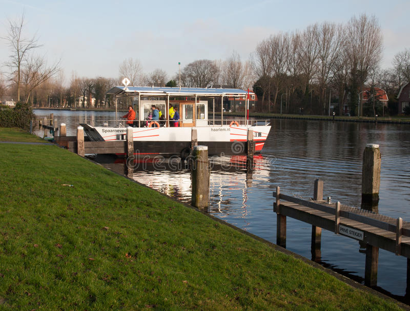 Solar Powered Ferry Boat Editorial Photo