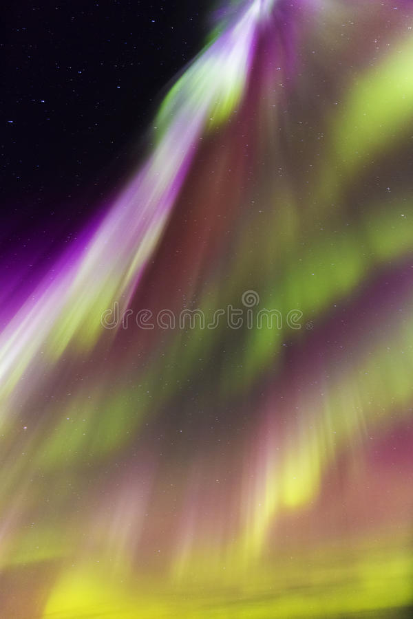 Solar storm royalty free stock image