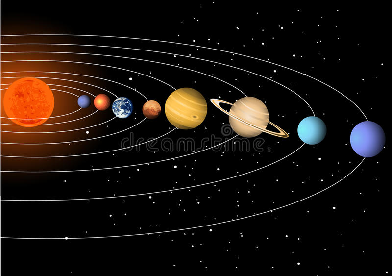 Download Solar system stock vector. Image of illustration, planet - 11962731