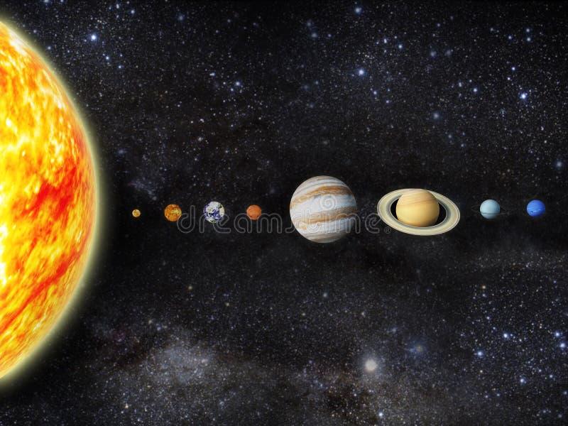 Download Solar system stock illustration. Illustration of astrology - 24125375