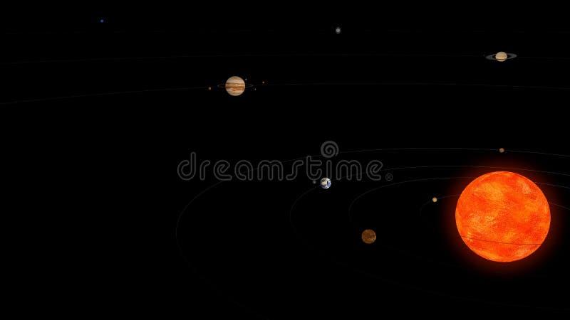 Download Solar system stock illustration. Image of meteorit, explorer - 26411821