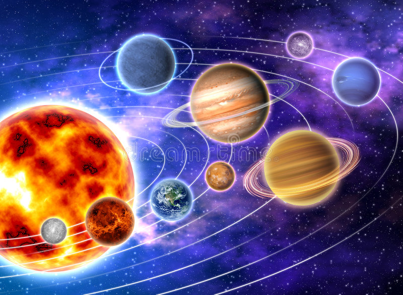 Download Solar system stock illustration. Illustration of system - 8010927