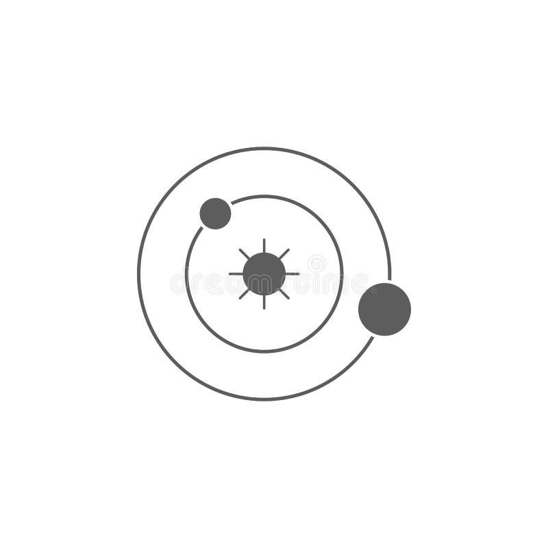 Solar System Icon Element Of Education Icon Premium Quality