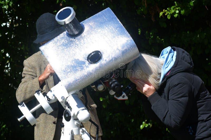 Download Solar telescope editorial stock photo. Image of curiosity - 38041568