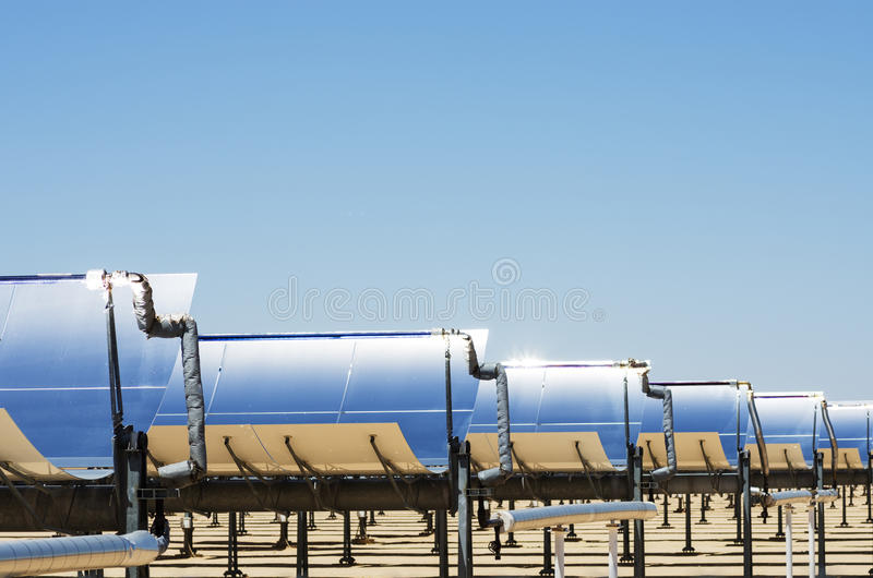 Download Solar Thermal Electric Plant Stock Photo - Image: 36570422