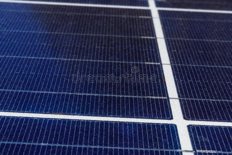 Solar Thermal Flat Panels. Many companies are installing renewable energy sources to reduce their carbon footprint I. Solar Thermal Flat Panels. Many companies royalty free stock photo