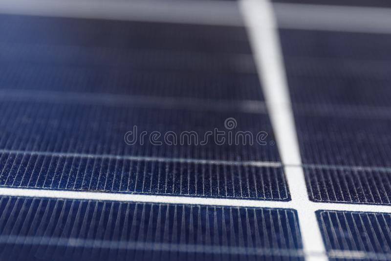 Solar Thermal Flat Panels. Many companies are installing renewable energy sources to reduce their carbon footprint II. Solar Thermal Flat Panels. Many companies royalty free stock photography