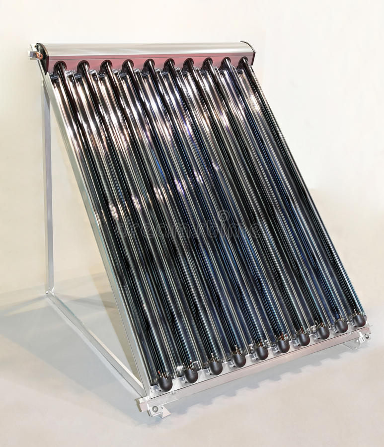 Download Solar water collector stock photo. Image of heater, temperature - 26170896