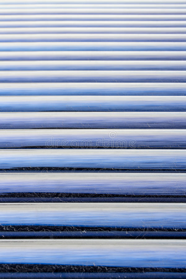 Solar Water Heater Glass Tubes Detail Background royalty free stock photos