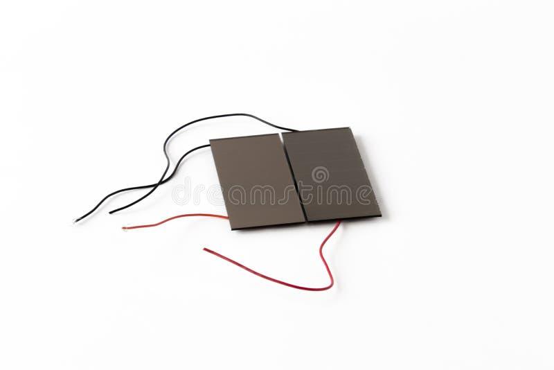 Solarelemente stockfoto. Bild von weiß, drähte, technologie - 53685282