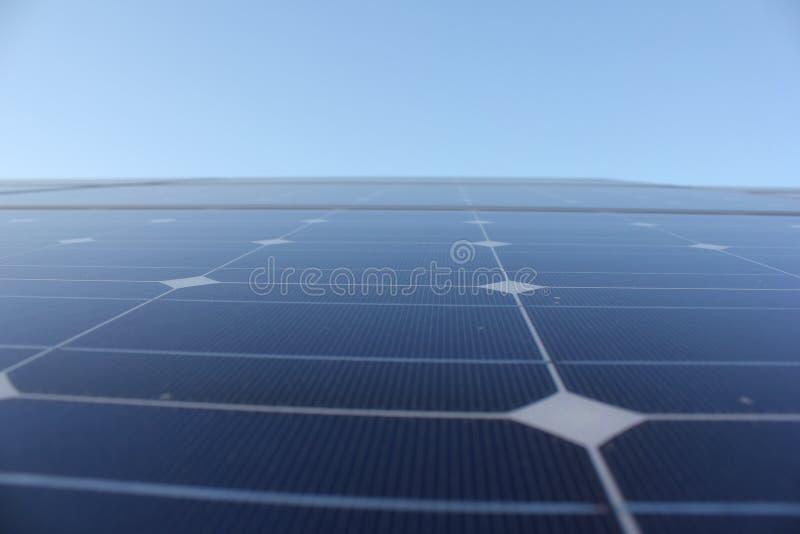 Solarenergie, Sonnenkollektoren, erneuerbare Energiequellen, PV-Module stockfotografie