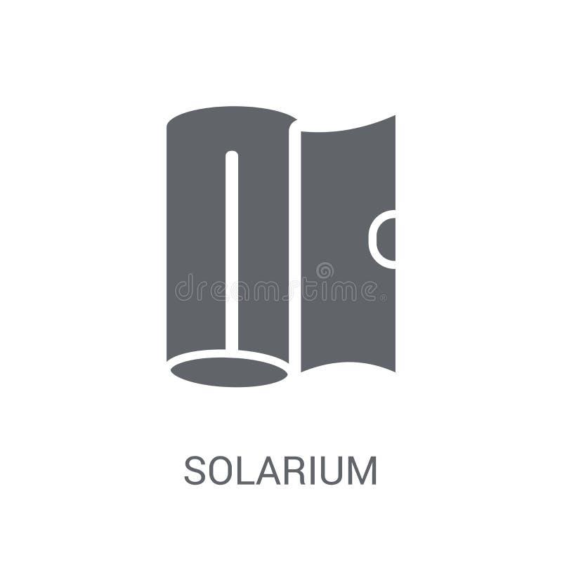 Solarium ikona  ilustracji