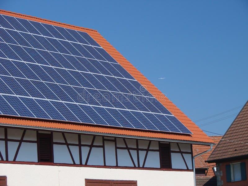 Solarpaneel2 royalty-vrije stock fotografie