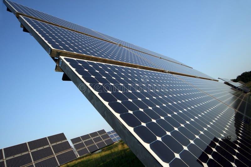 Solarpanel stockfoto