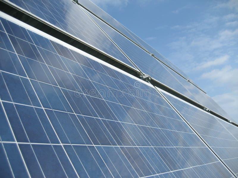 SolarStromnetz I lizenzfreie stockbilder