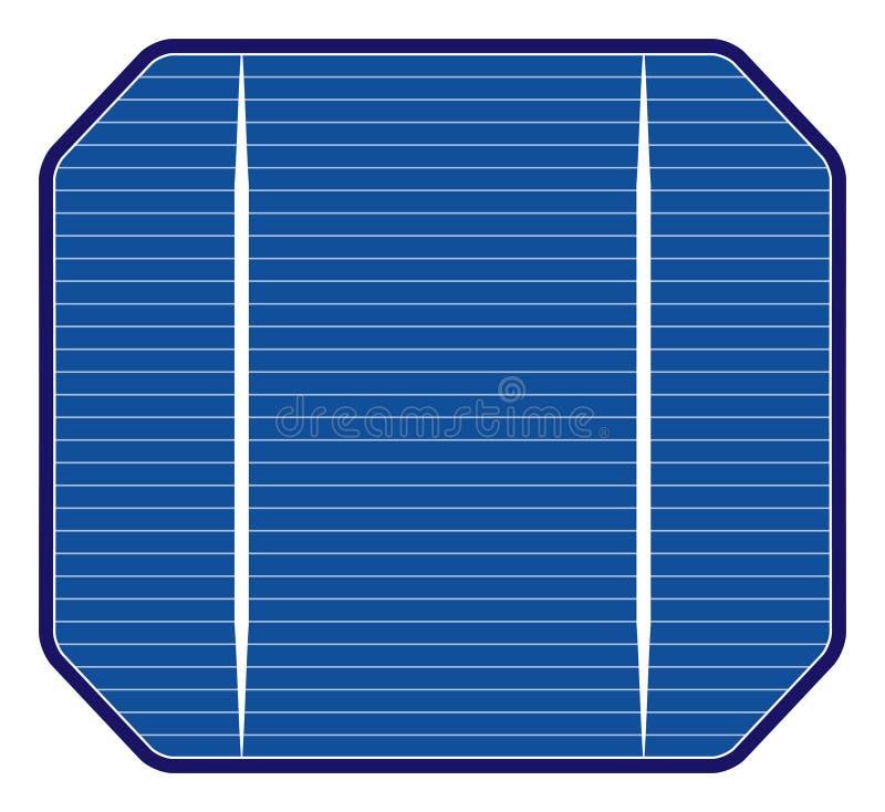 Solarzelle lizenzfreie abbildung