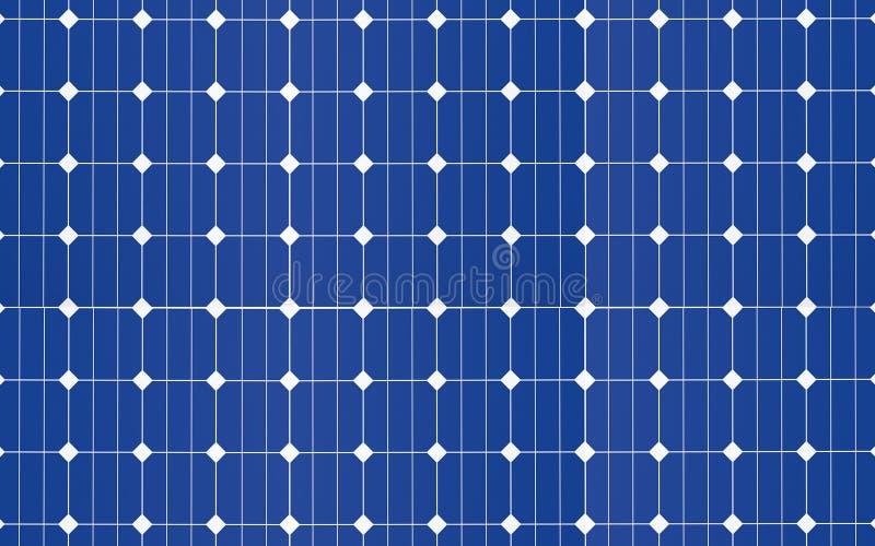 Solarzellenplattenhintergrund vektor abbildung