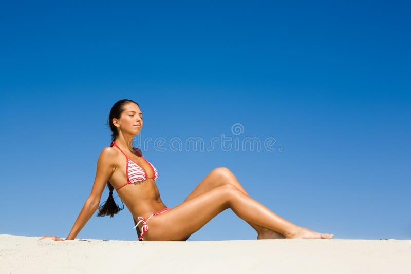 solbada fotografering för bildbyråer
