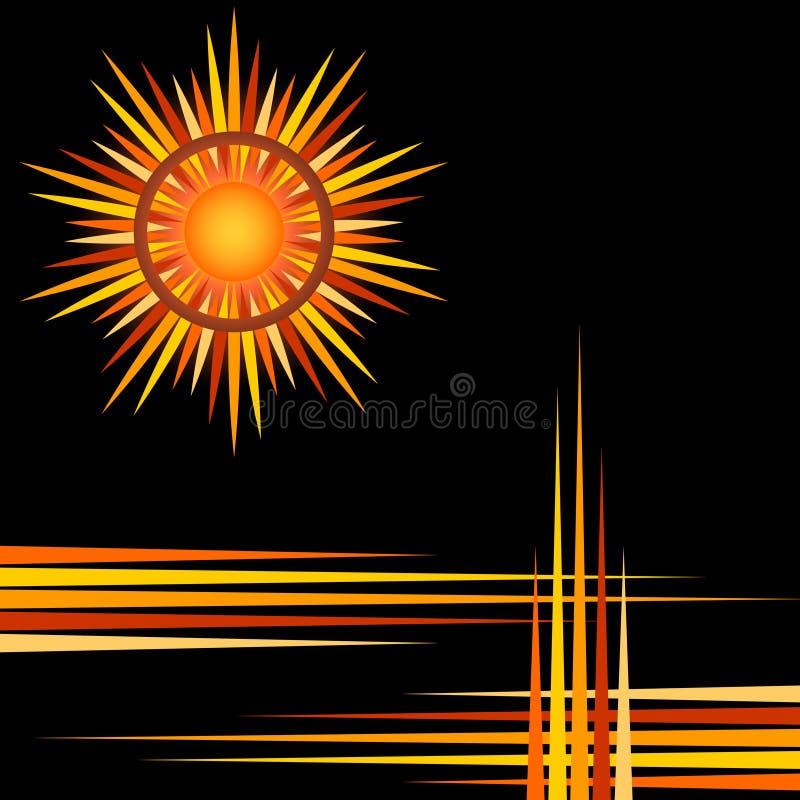 Solband stock illustrationer
