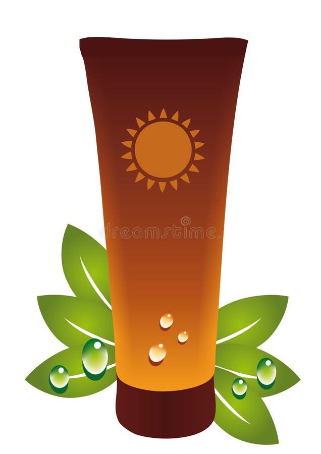 solbränna vektor illustrationer