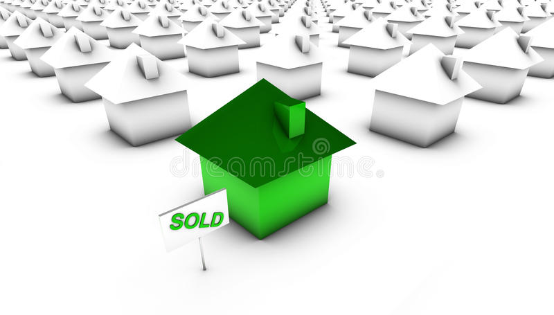 Download Sold - Green with White stock illustration. Image of illustration - 9884233