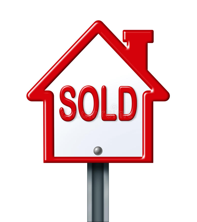 Download Sold Sign Stock Image - Image: 19645601