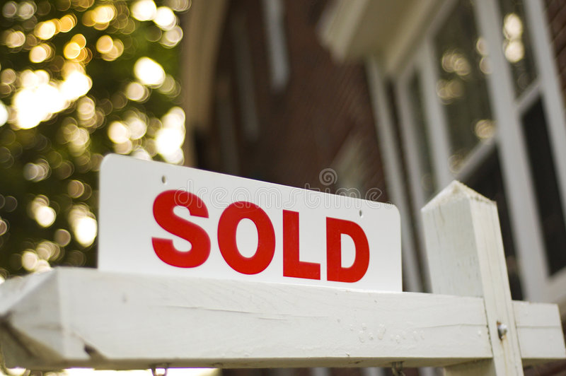 Download Sold Sign Royalty Free Stock Images - Image: 210419