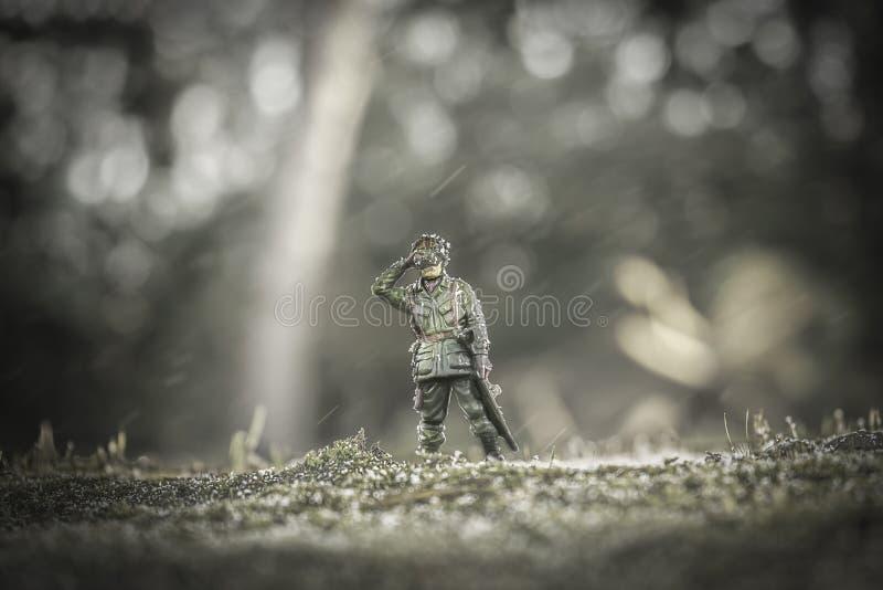 soldado imagem de stock royalty free