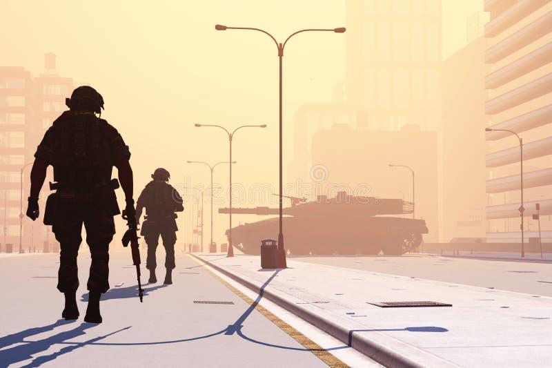 soldado libre illustration