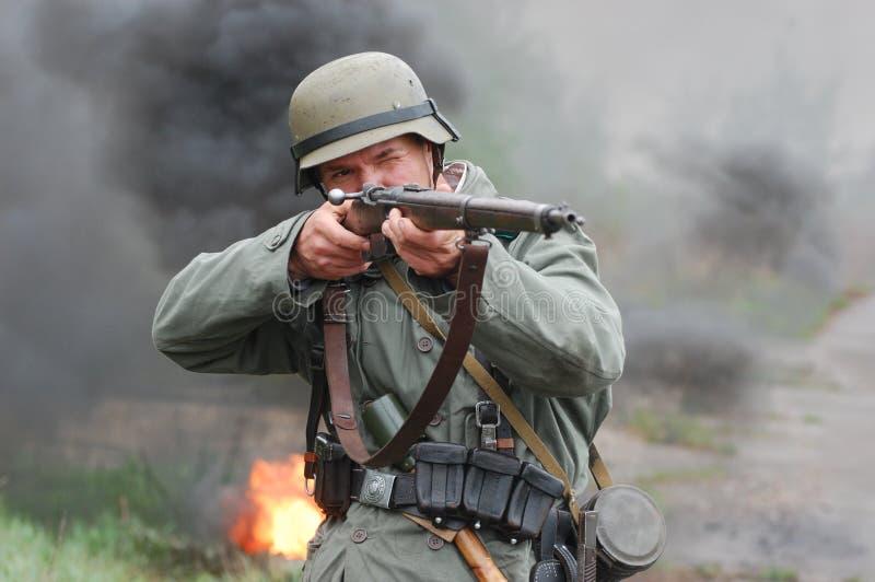 Soldado alemán fotos de archivo