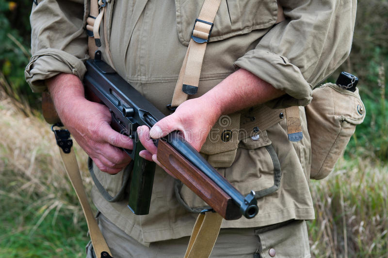 Soldado americano fotos de stock