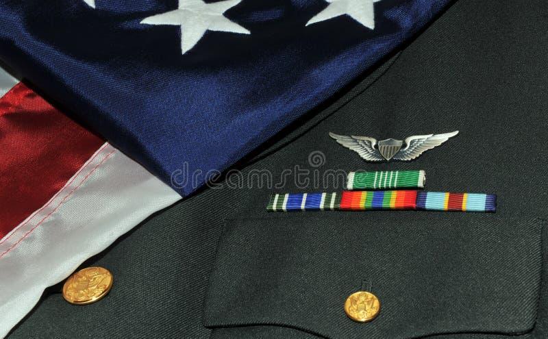 Soldado americano fotografia de stock