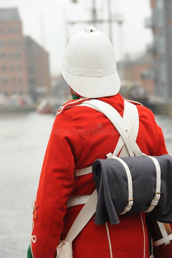 Soldado británico imagen de archivo libre de regalías