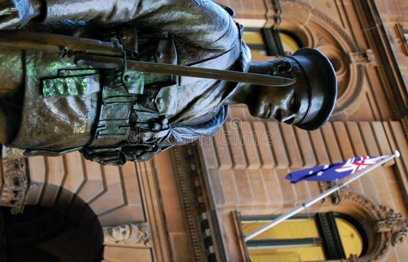 Soldado de ANZAC fotografia de stock royalty free
